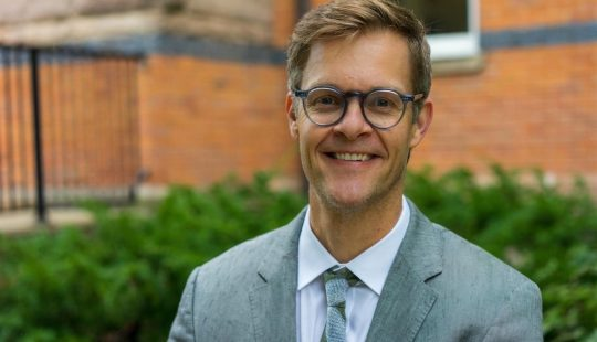 Justus Nieland Named Department of English Chair