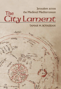 Book Cover of The City Lament by Tamar Boyadjian