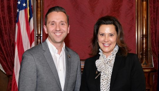 MSU English Alumnus Directs Communications for Michigan Governor
