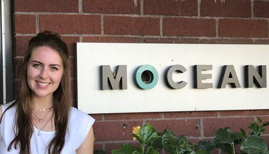 Film Studies Major Interns with Mocean