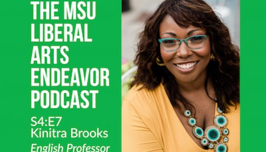 LAE Podcast Hosts Associate Professor Kinitra Brooks