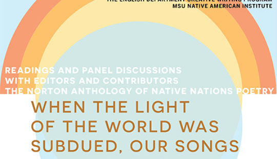 The Norton Anthology of Native Nations Poetry Events on November 19th and 20th
