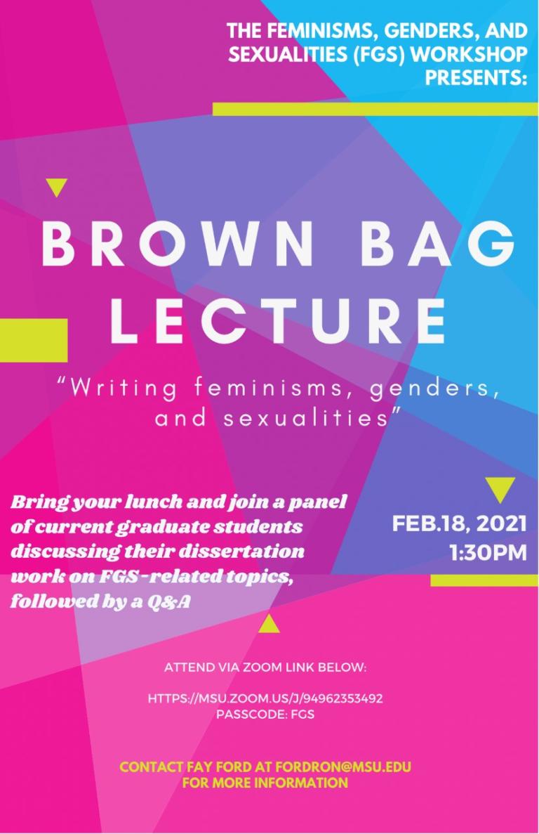 210218 FGS Brown Bag Lecture
