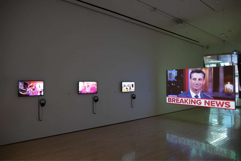 an image of a art exhibit