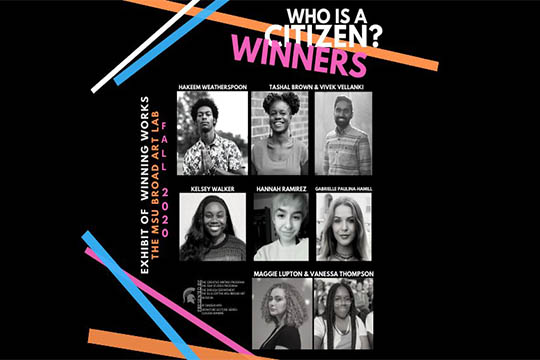 Who Is a Citizen? Contest Winners Announced
