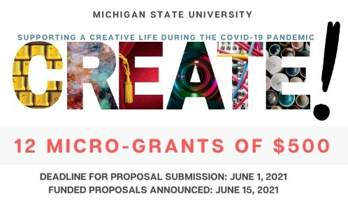 CREATE! Micro-Grant Program Now Accepting Proposals