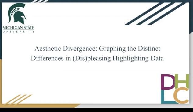 screenshot of a presentation video