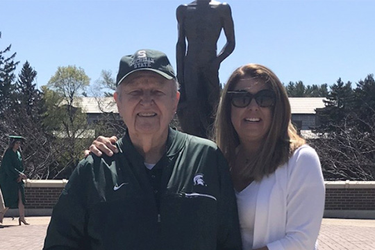 Alumnus Voice: Indebted to Michigan State for 70 years